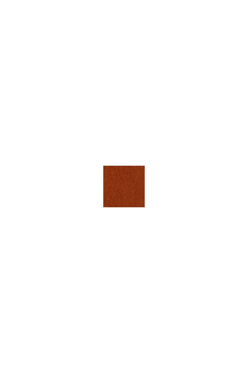En cuir: la large ceinture ornée de rivets, RUST BROWN, swatch