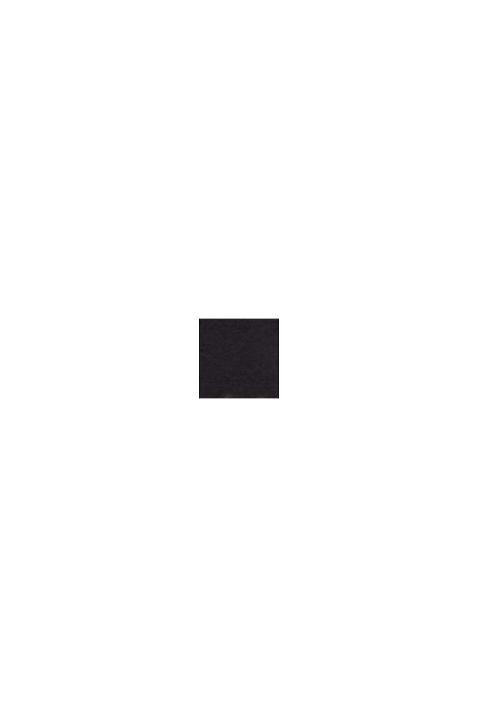 Belt made of chrome-free genuine leather, BLACK, swatch
