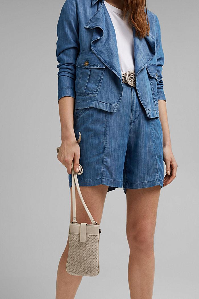 Végane: le sac pour smartphone en similicuir