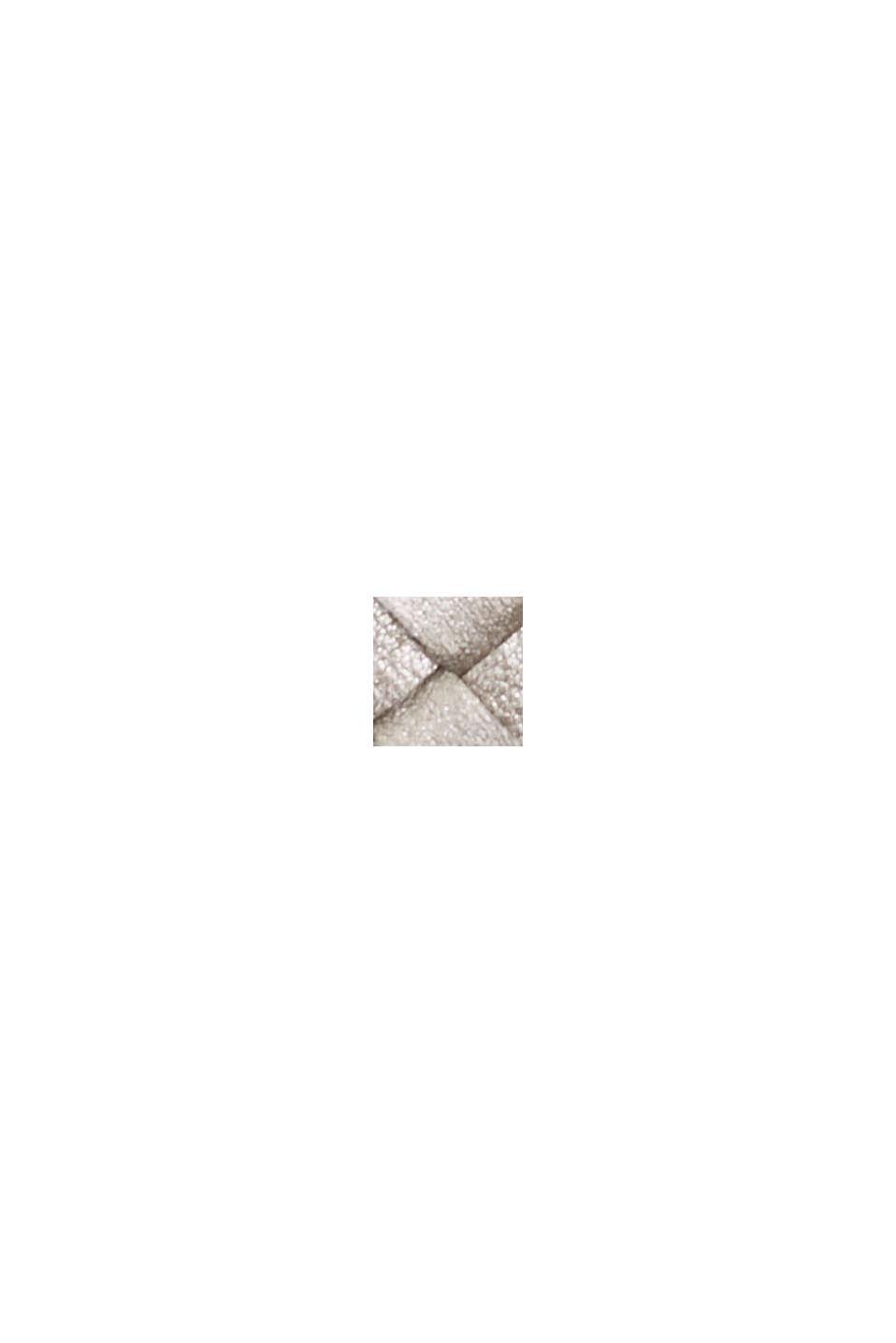 Vegansk: plånbok i flätad look, GUNMETAL, swatch