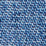 Met linnen: denim culotte met paperbagband, BLUE MEDIUM WASHED, swatch