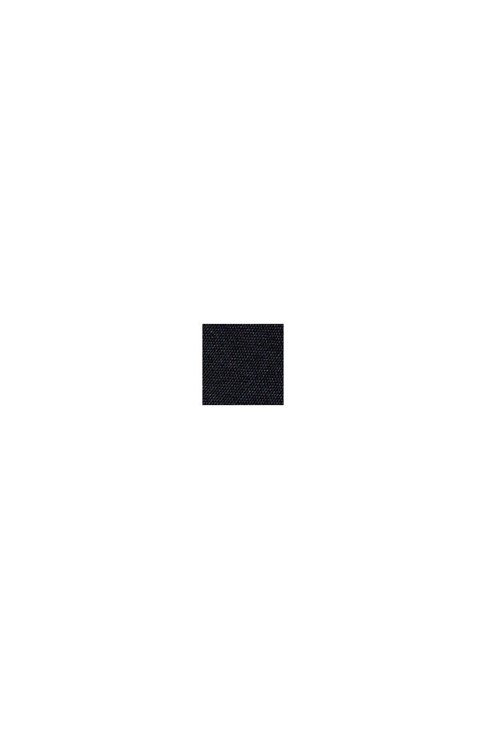 Chino a vita alta con cintura da annodare, BLACK, swatch