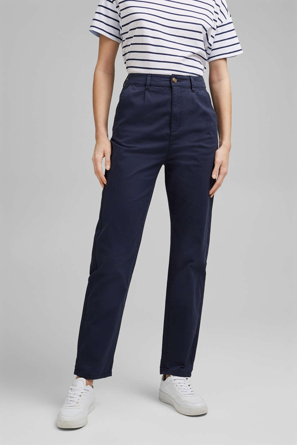 Esprit - Pima cotton chinos