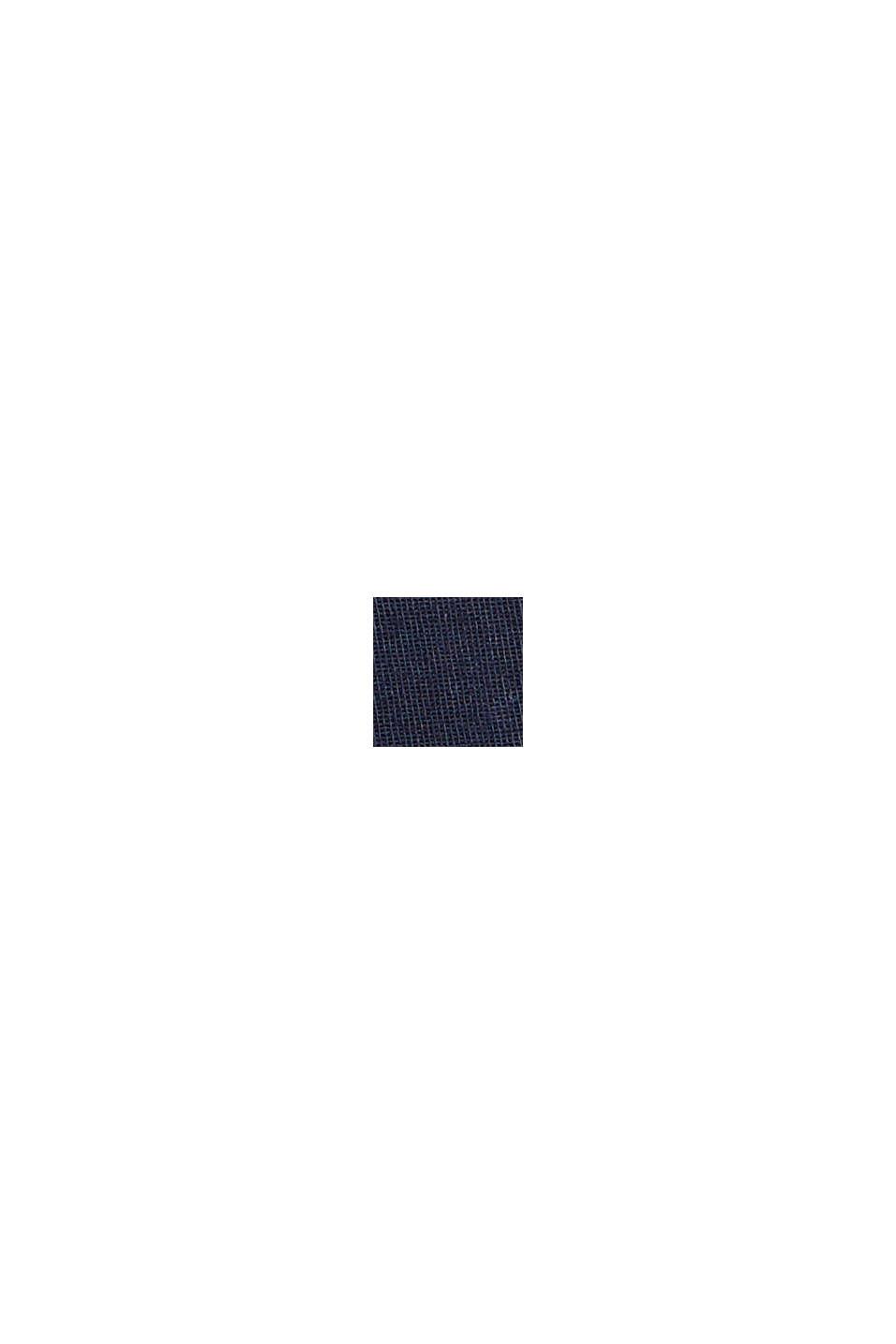 Chino en coton Pima, NAVY, swatch