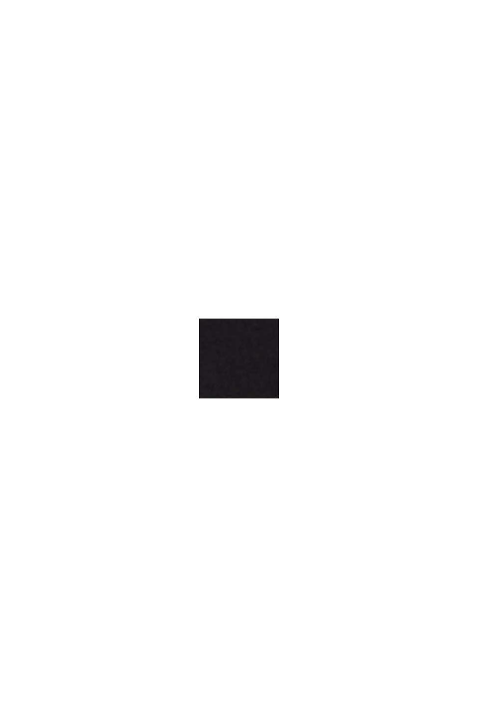 Soepele broek met elastische band, BLACK, swatch