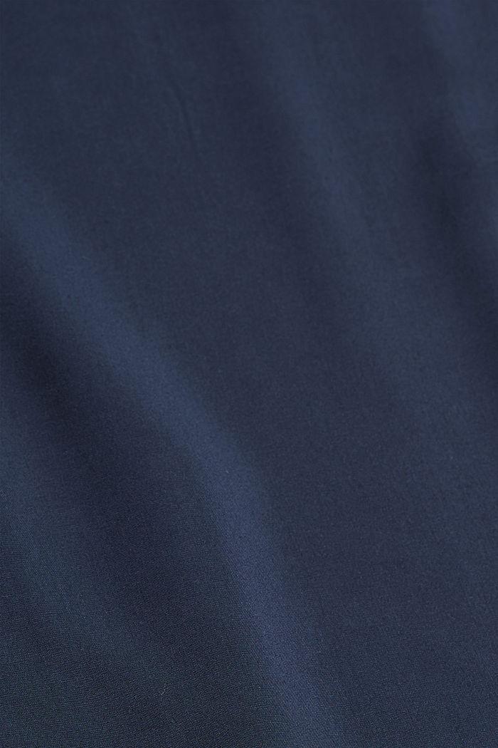 Soepele broek met elastische band, NAVY, detail image number 4
