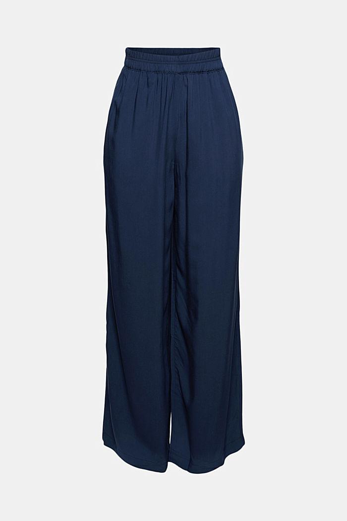 Pantalón fluido con cintura elástica