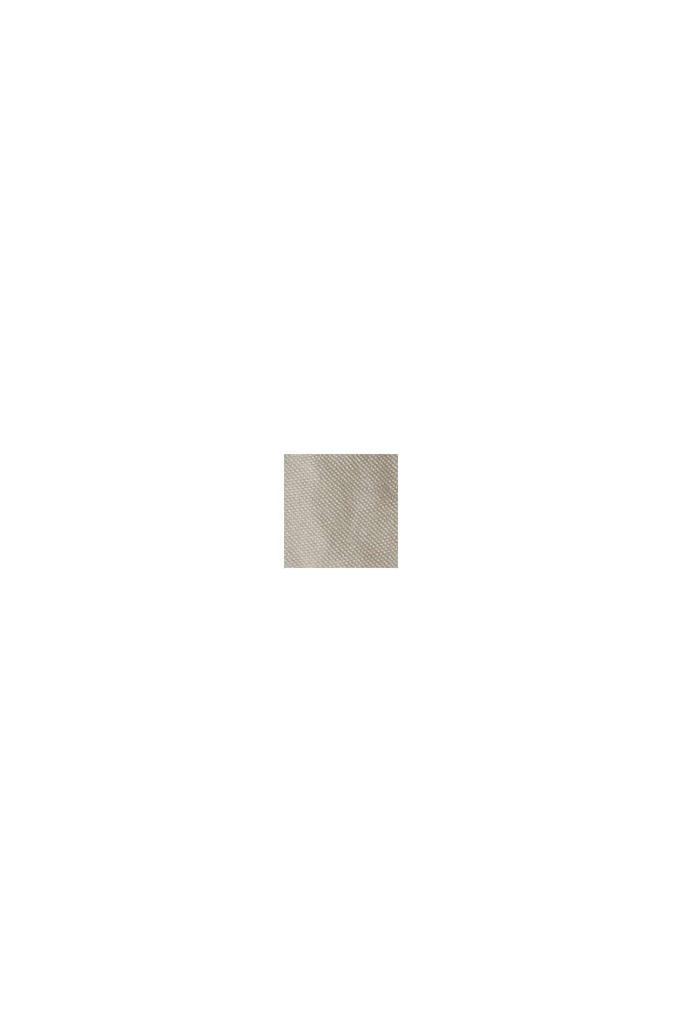 CURVY chino con cintura da annodare, cotone biologico, LIGHT BEIGE, swatch