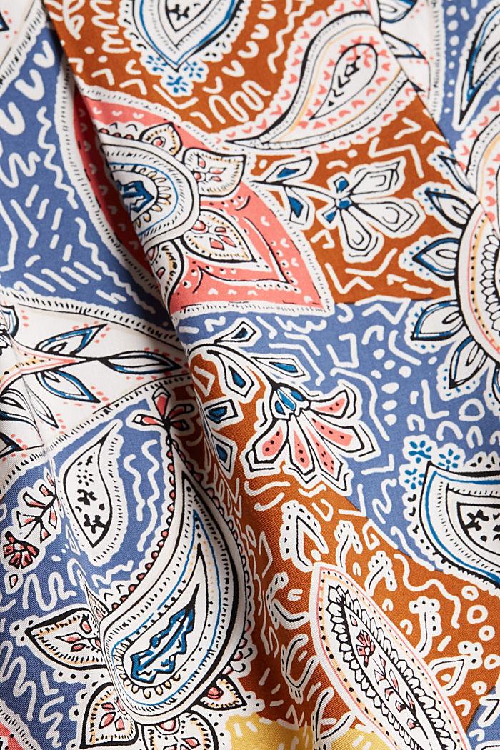 Short met paisleyprint en LENZING™ ECOVERO™, LIGHT BEIGE, detail image number 4