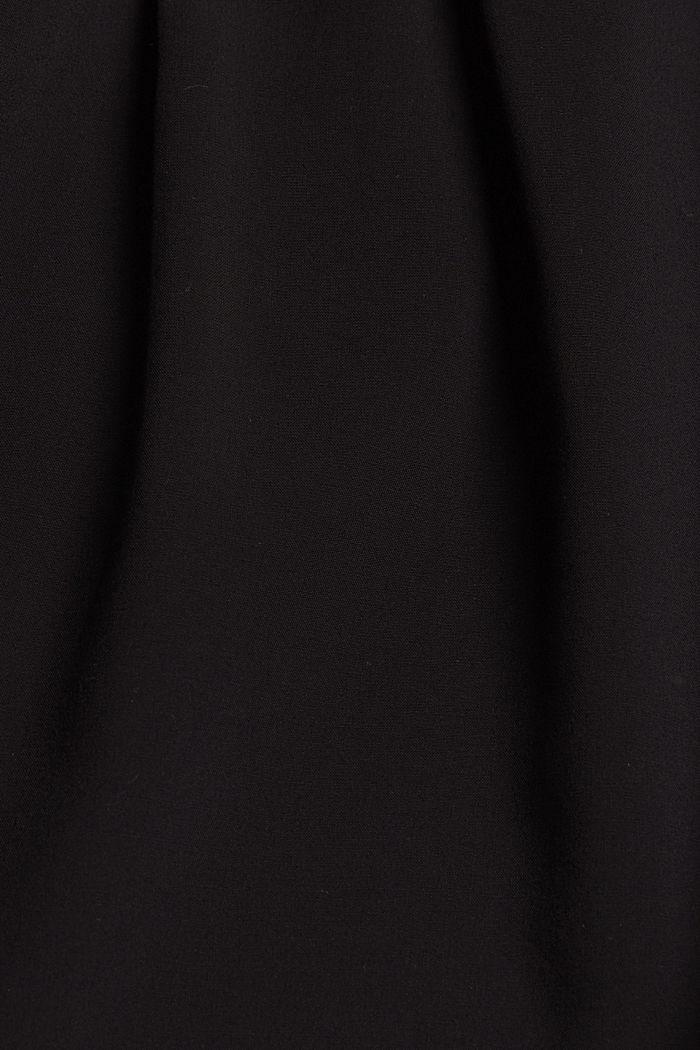Leichte Shorts mit Gummibund, BLACK, detail image number 4