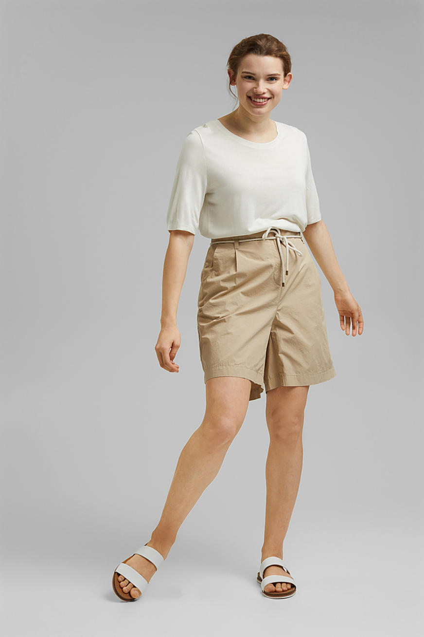 CURVY shorts made of organic cotton
