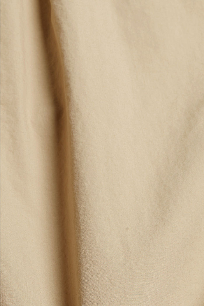 CURVY Shorts aus Organic Cotton, SAND, detail image number 4