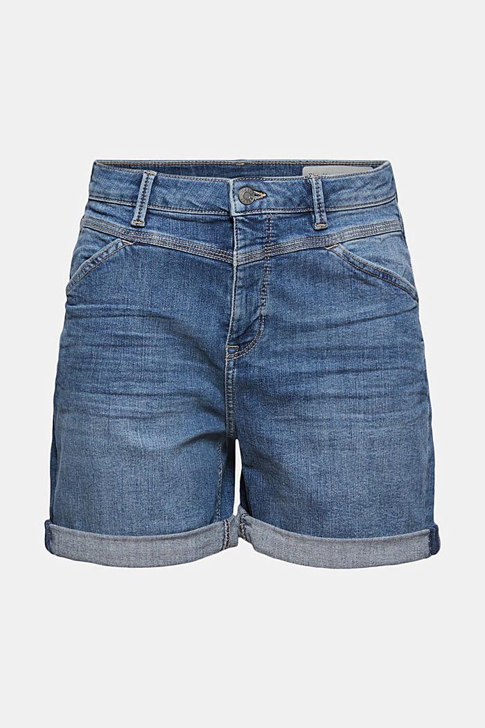 Denim shorts made of organic cotton/LYCRA®