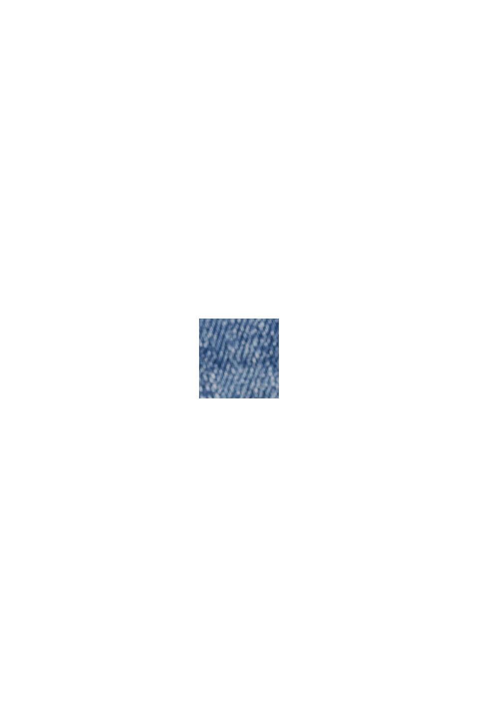 Farkkushortsit luomupuuvillaa/Lycraa®, BLUE MEDIUM WASHED, swatch
