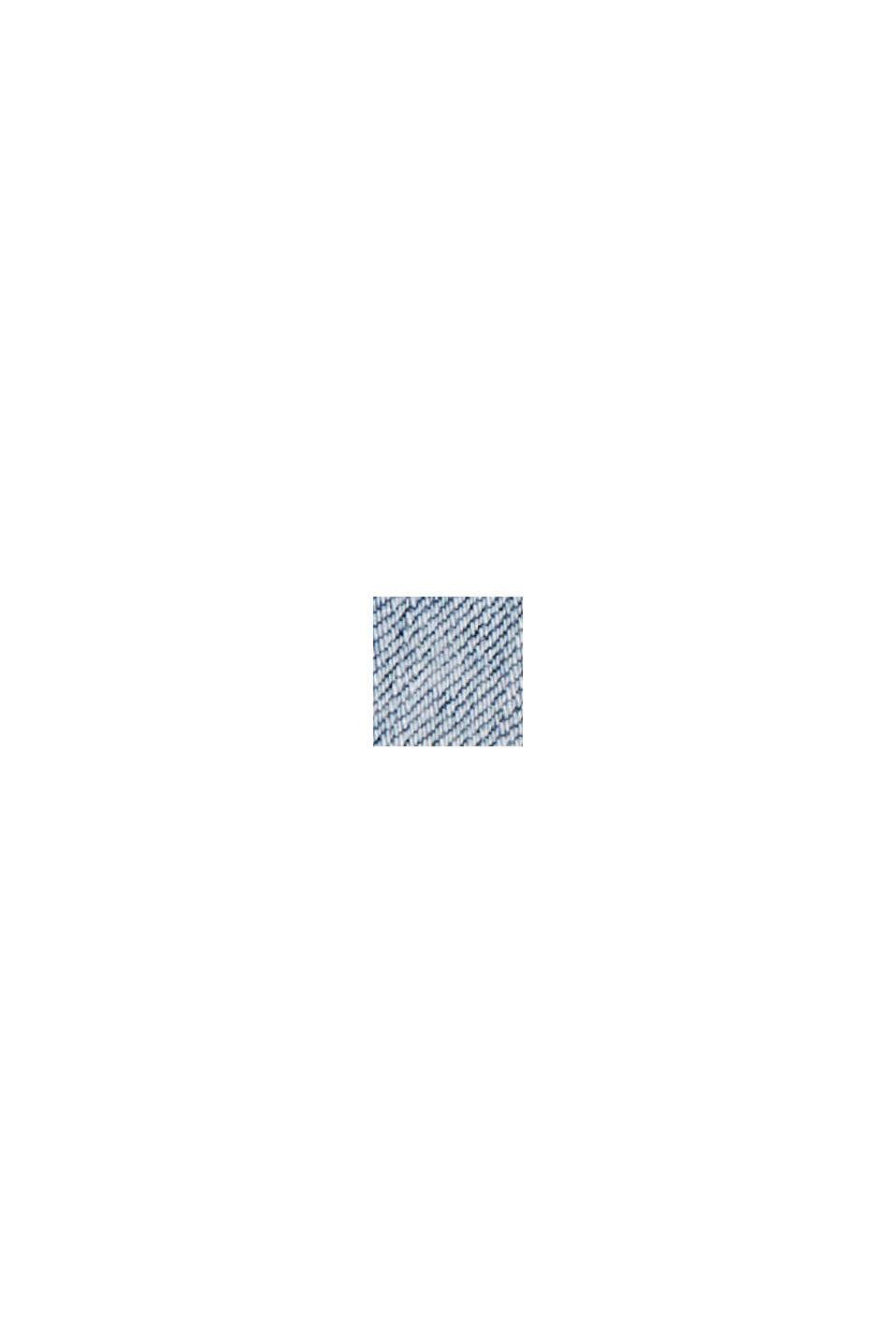Farkkushortsit luomupuuvillaa/Lycraa®, BLUE BLEACHED, swatch