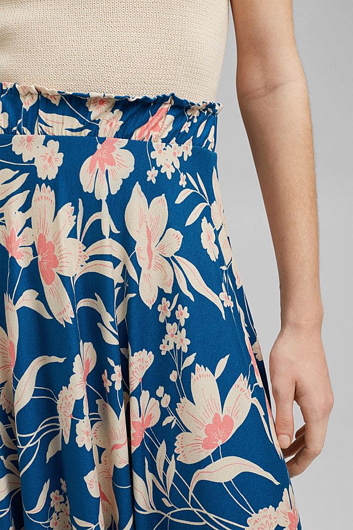 Flower Midirock aus LENZING™ ECOVERO™, BRIGHT BLUE, detail image number 2