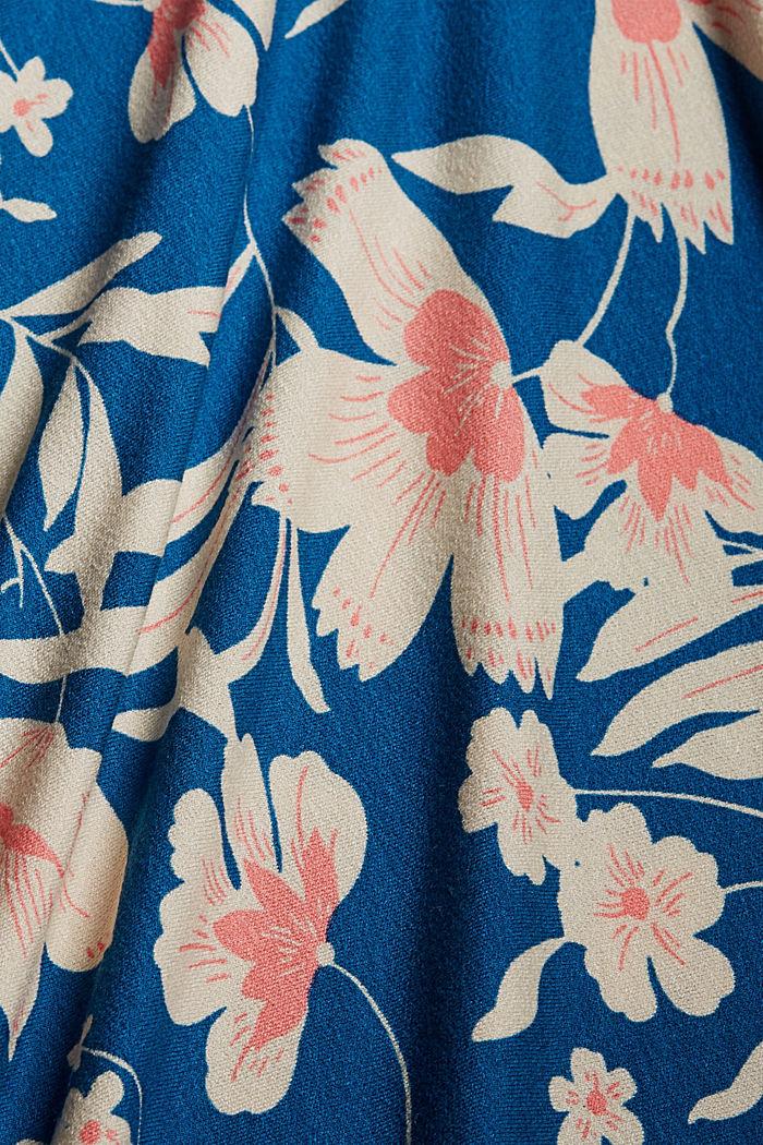 Flower Midirock aus LENZING™ ECOVERO™, BRIGHT BLUE, detail image number 4