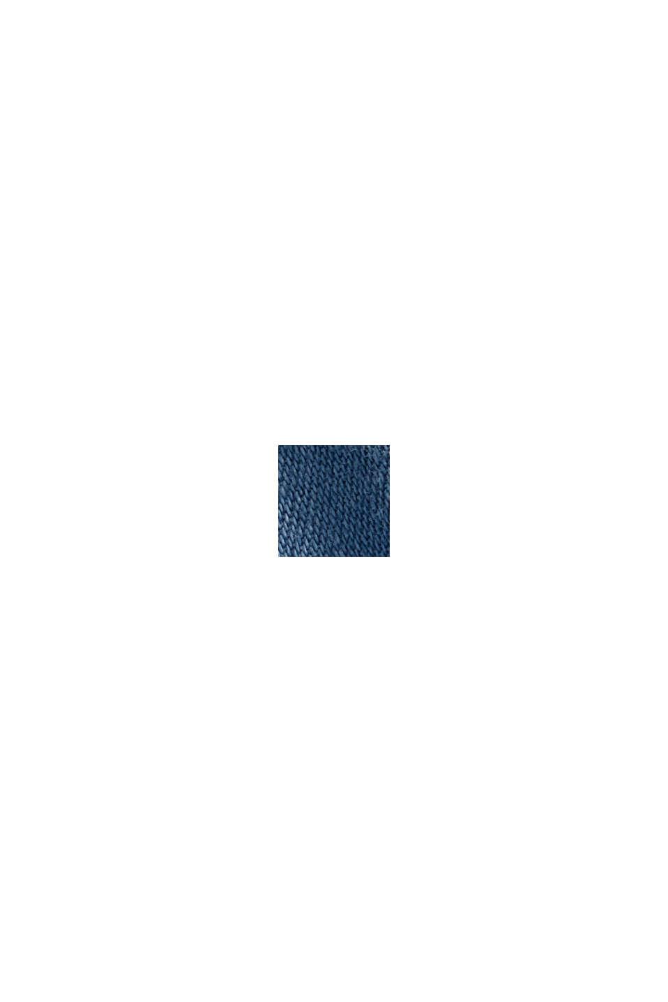 Con lino: falda vaquera de estilo paperbag, BLUE LIGHT WASHED, swatch