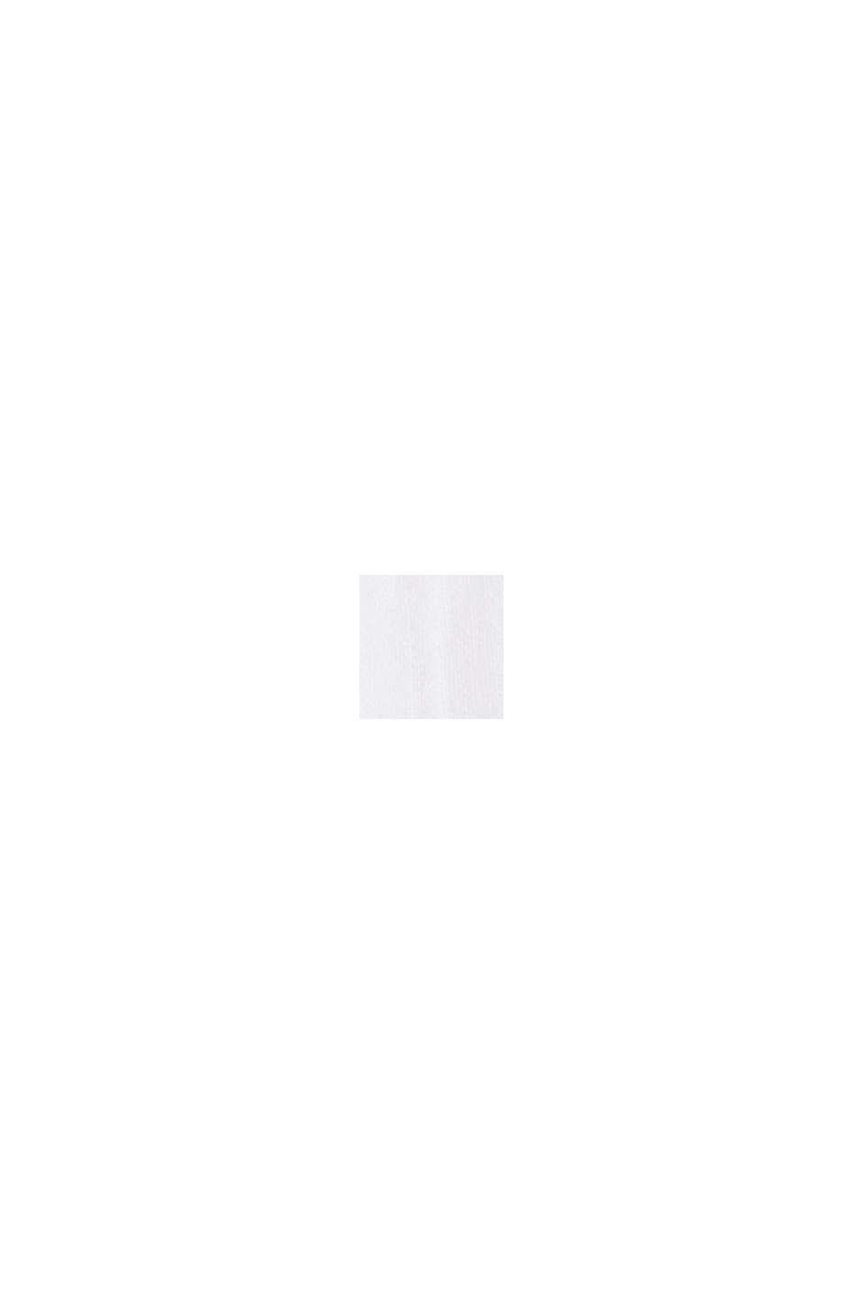 Voile-Kleid aus Bio-Baumwolle mit Spitze, WHITE, swatch