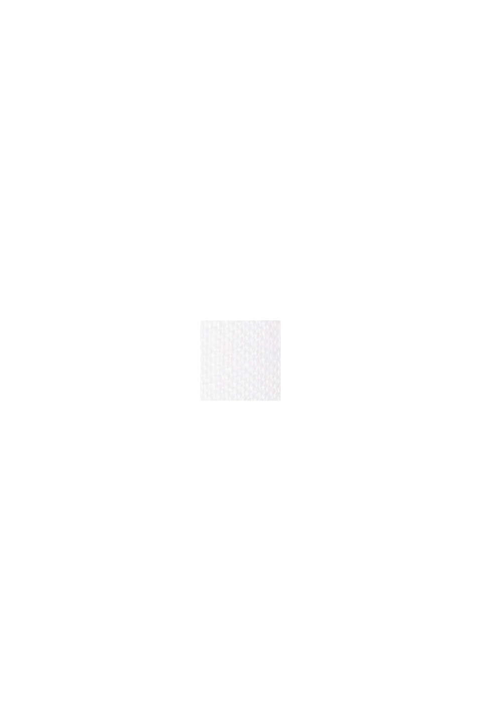 Aus Leinen: Kleid mit Knopf-Details, WHITE, swatch