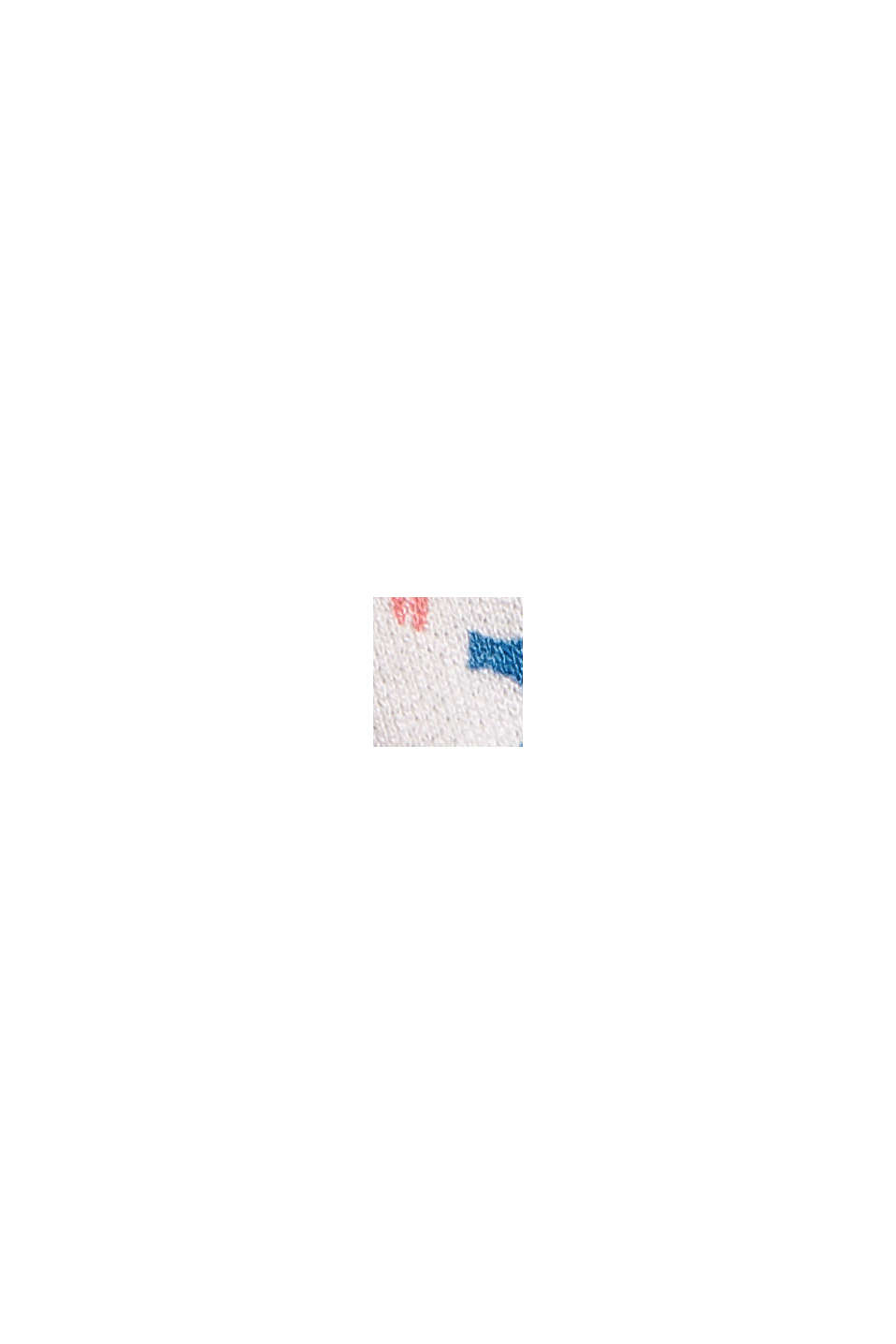 Blomstret carmen-maxikjole LENZING™ ECOVERO™, BRIGHT BLUE, swatch