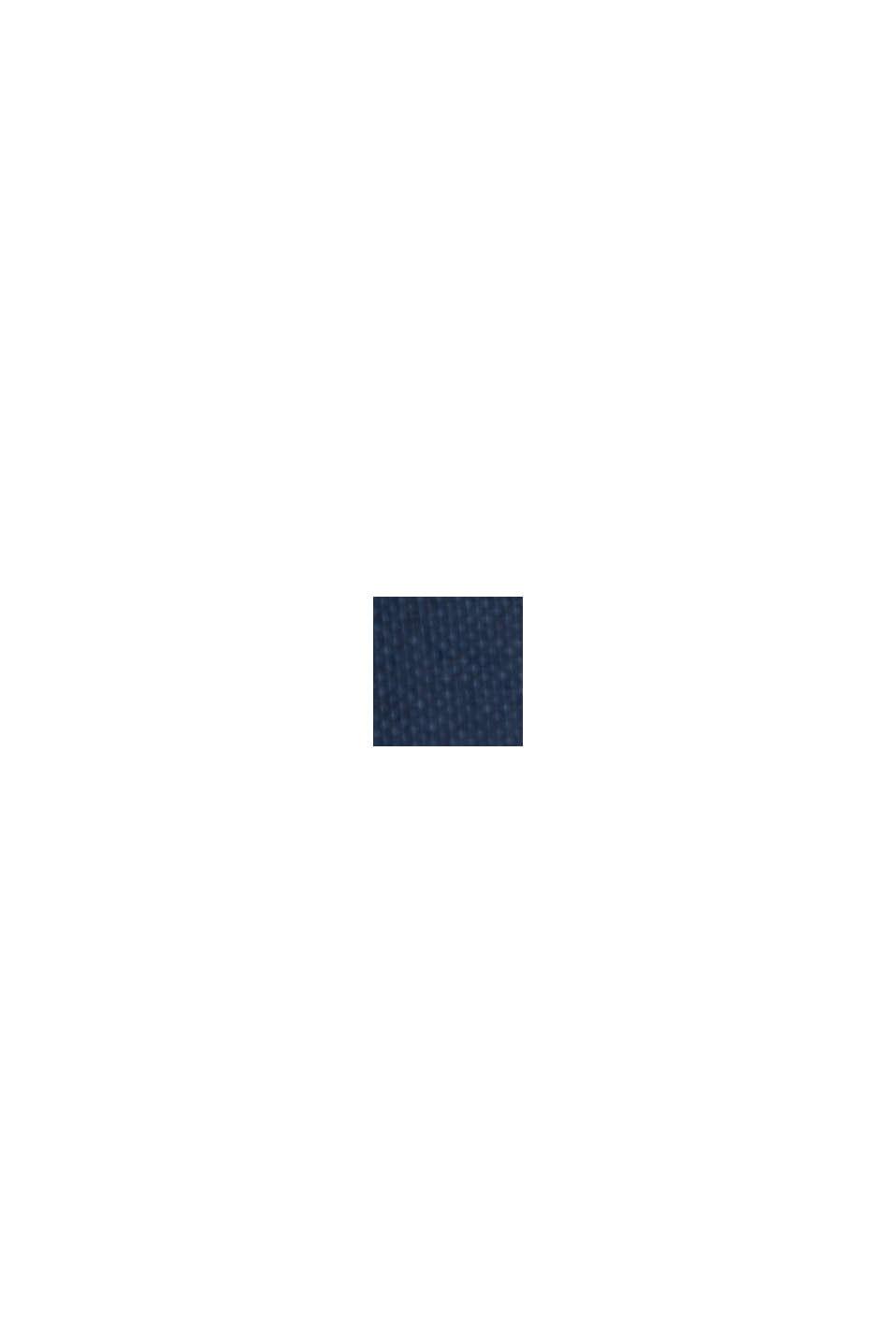 Fließendes Jerseykleid mit Bindegürtel, NAVY, swatch
