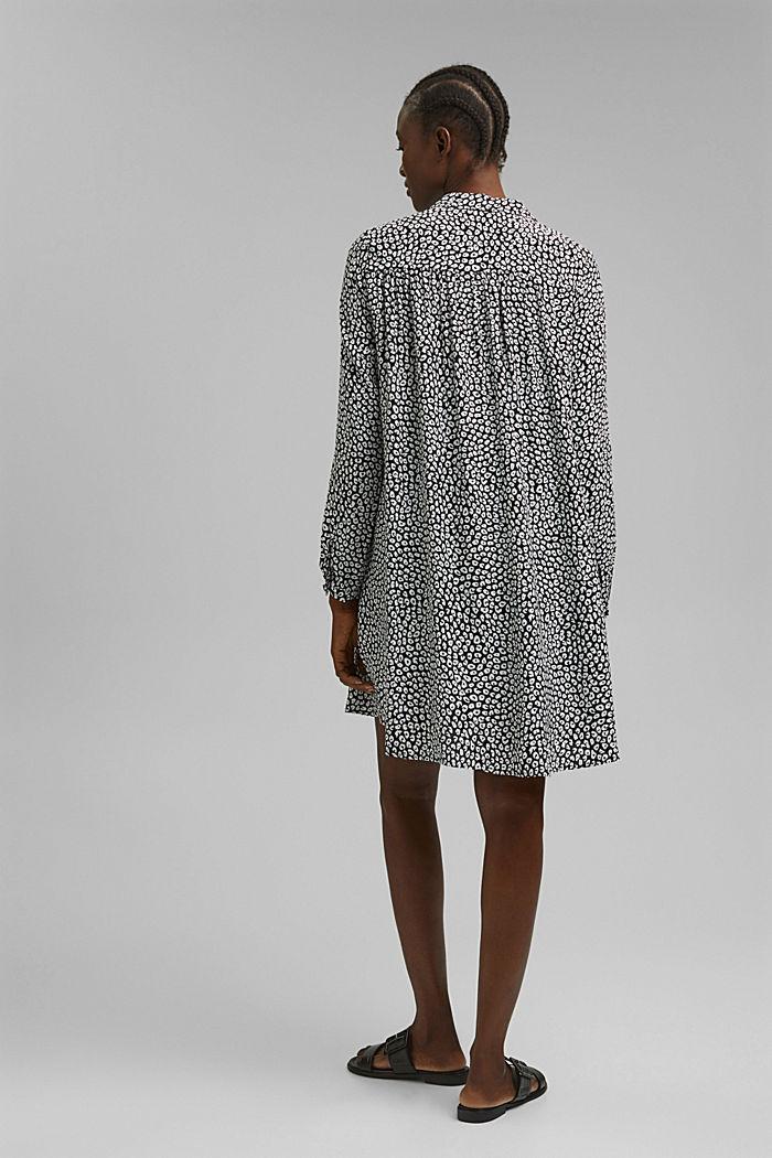 Hängerchen-Kleid mit Print, BLACK, detail image number 2