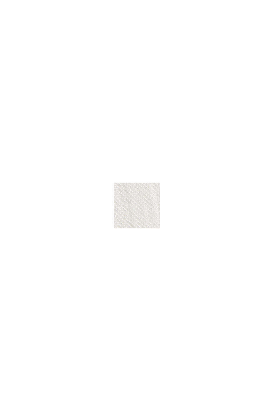 Blouse top with broderie anglaise, LENZING™ ECOVERO™, OFF WHITE, swatch