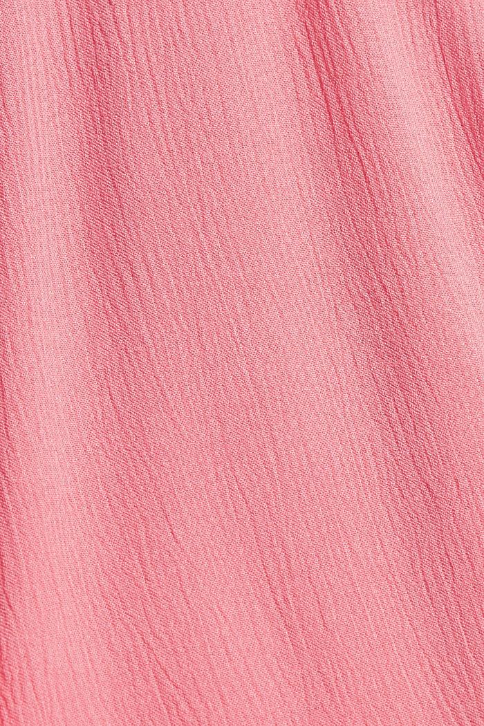 Blusentop mit Lochspitze, LENZING™ ECOVERO™, CORAL, detail image number 4