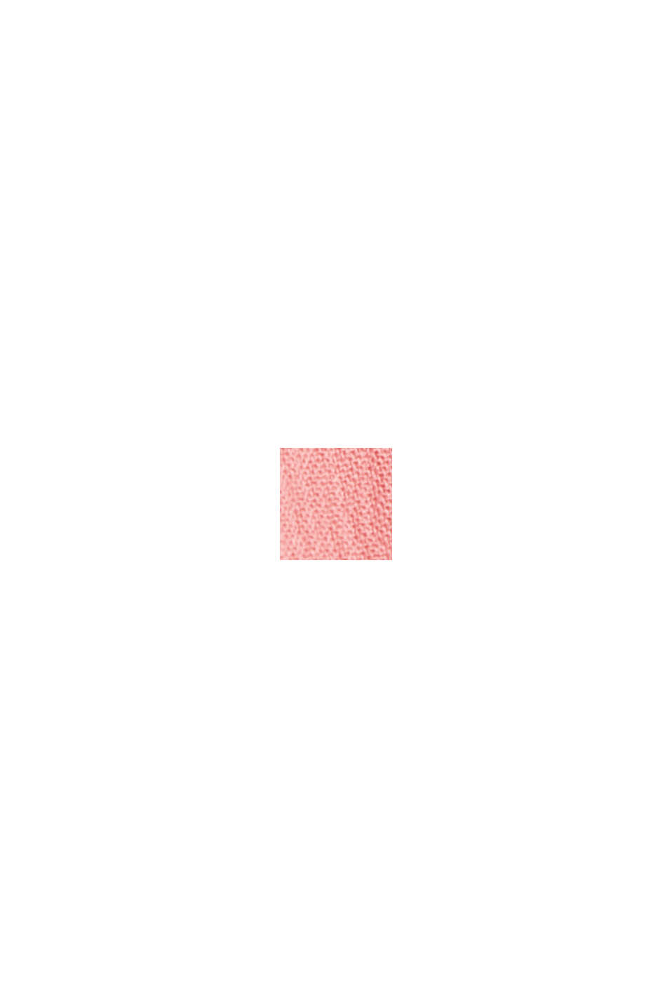 Dainty crinkle blouse made of LENZING™ ECOVERO™, CORAL, swatch