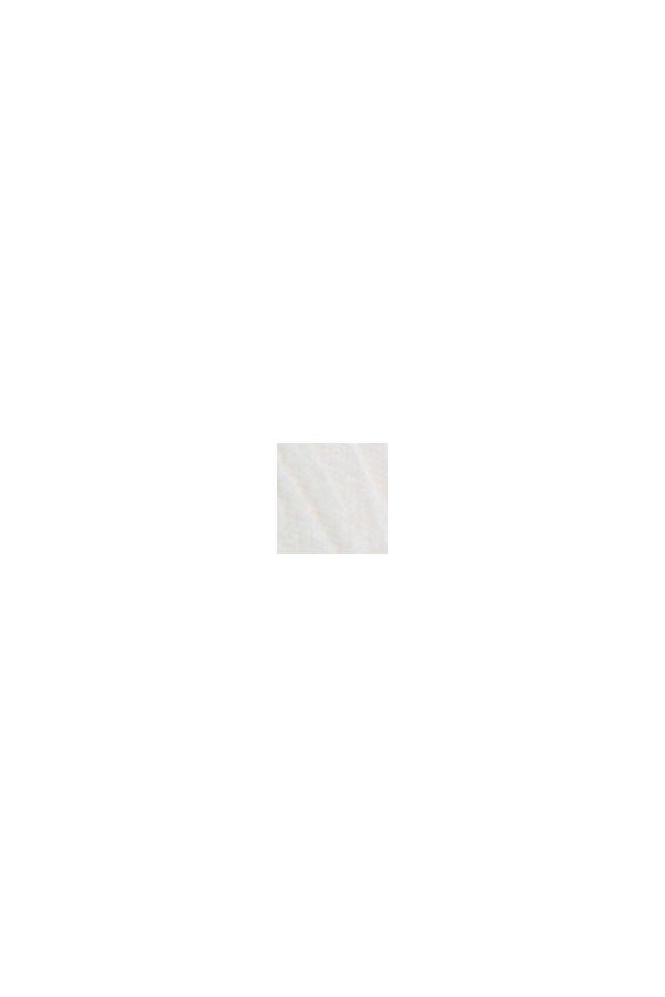 CURVY Crinkle-Bluse aus LENZING™ ECOVERO™, OFF WHITE, swatch