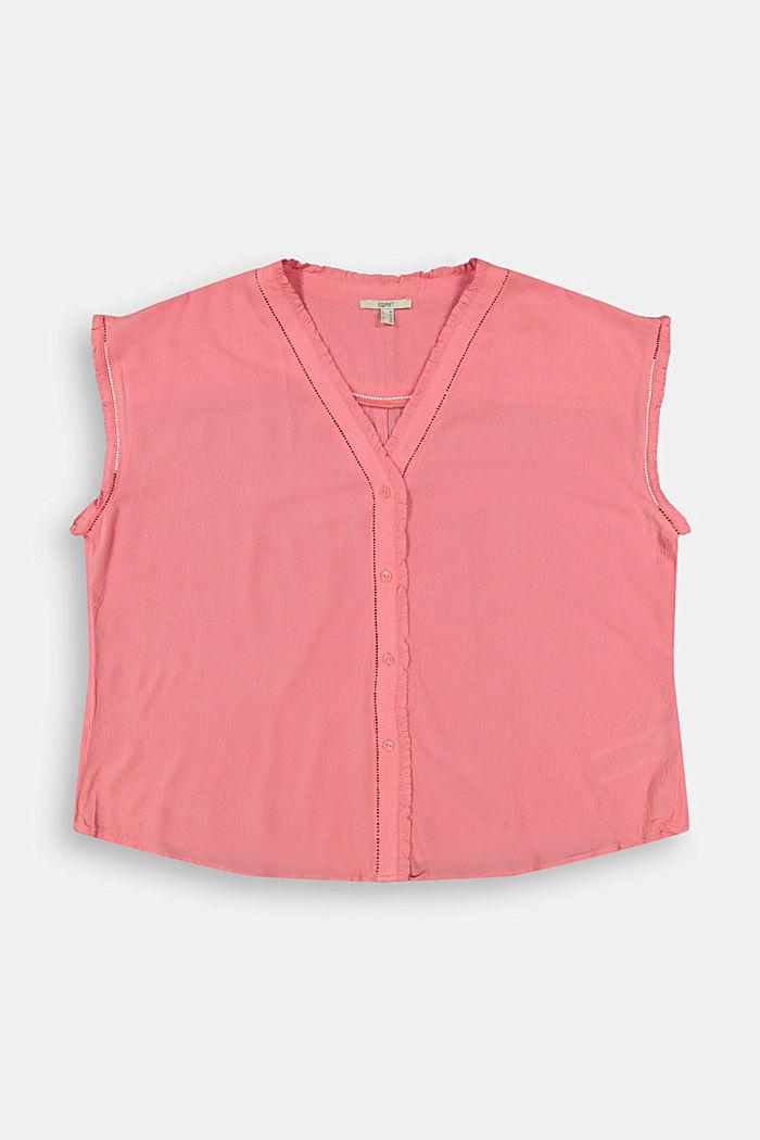 CURVY crinkle blouse made of LENZING™ ECOVERO™