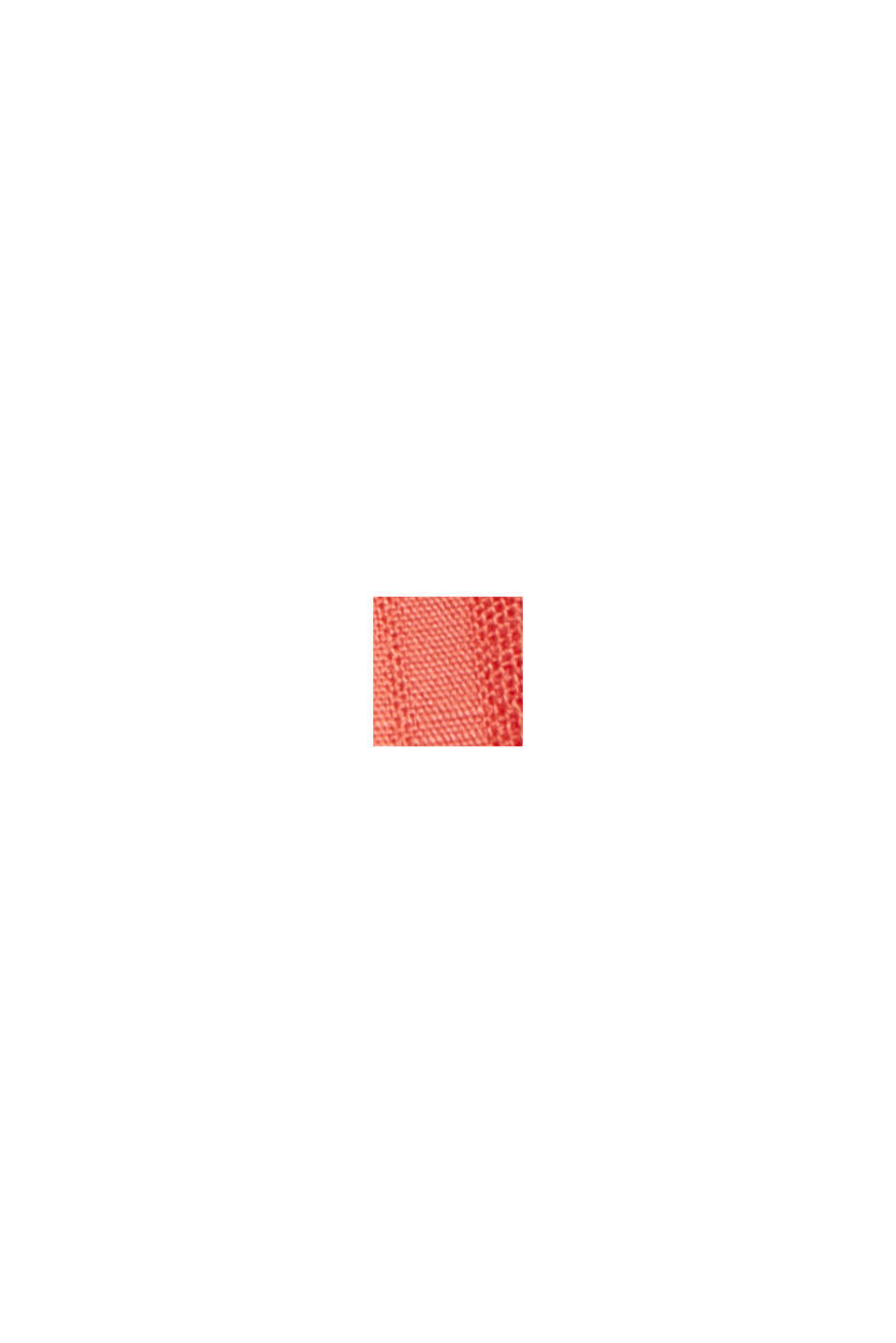 Blouse top made of LENZING™ ECOVERO™, CORAL, swatch
