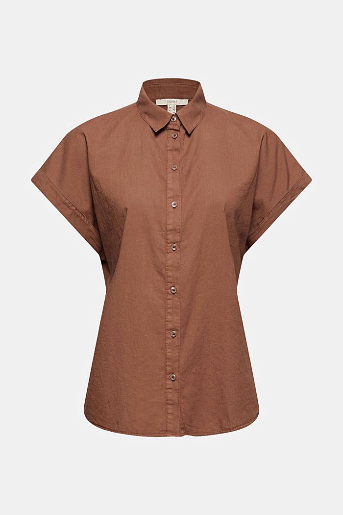 EarthColors® skjortblus, 100% ekobomull