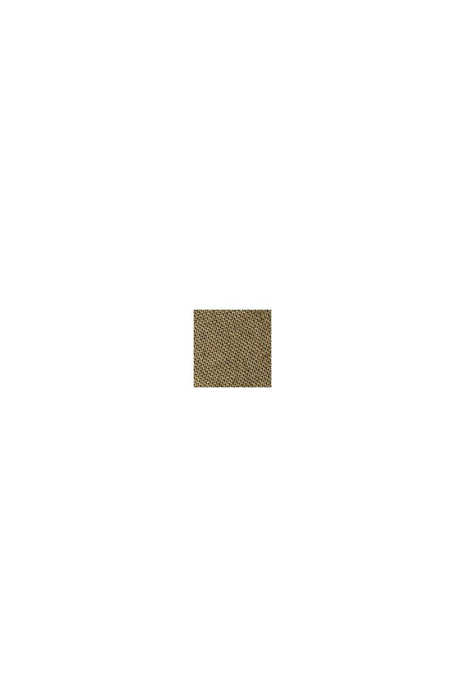 EarthColors® skjortblus, 100% ekobomull, OLIVE, swatch