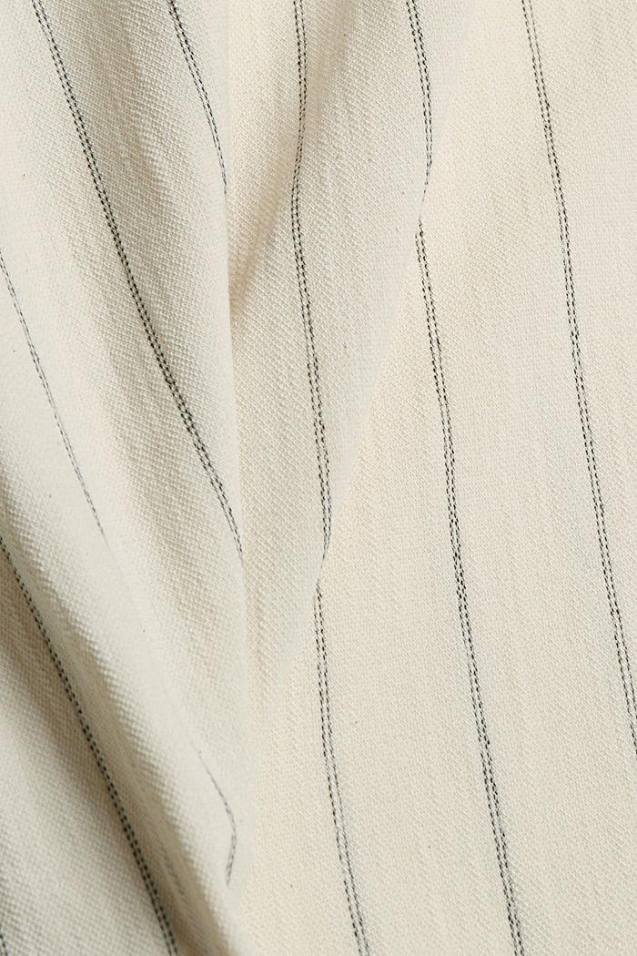 Giacca in stile kimono con cintura, OFF WHITE, detail image number 4
