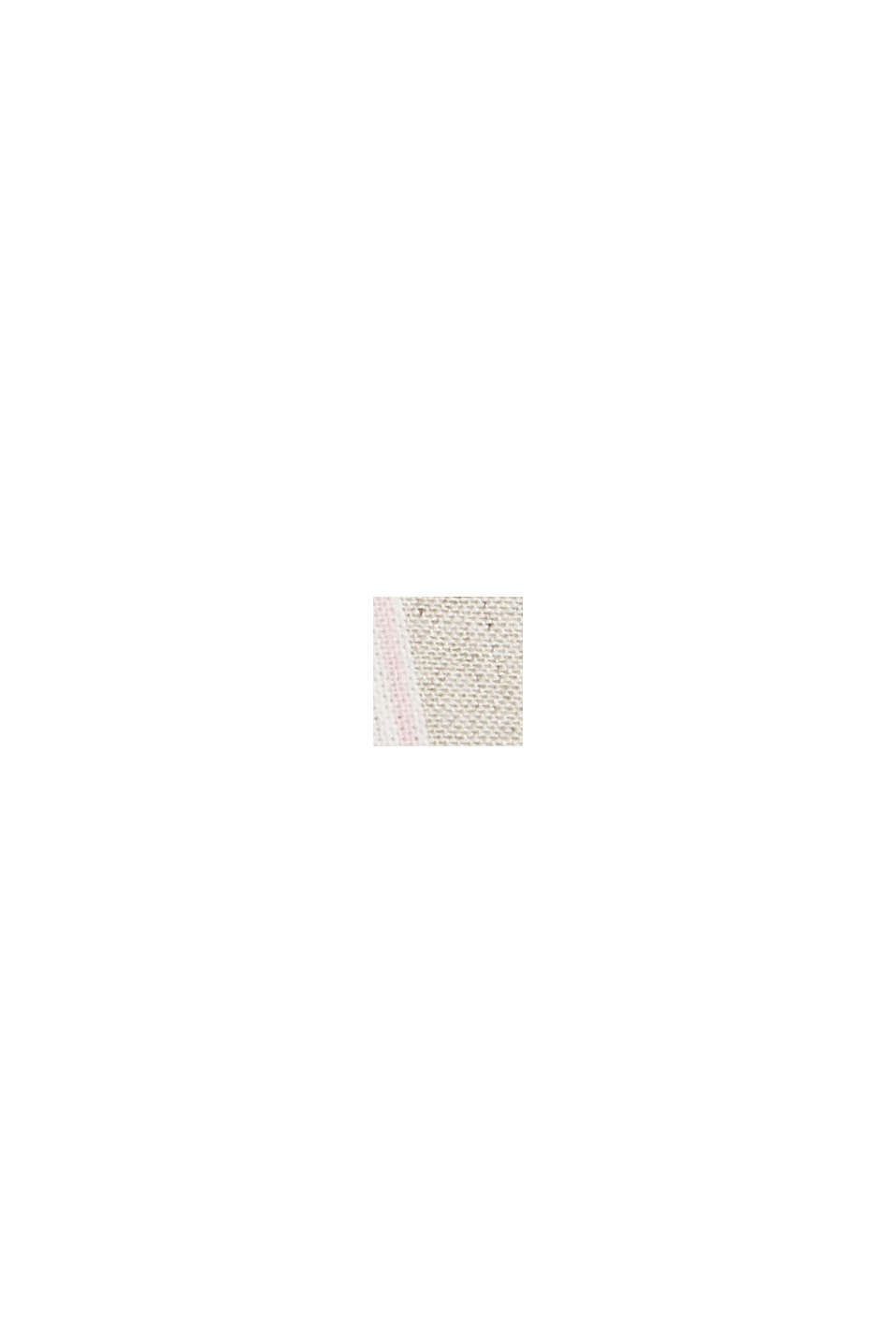 Z bawełny ekologicznej/lnu: dwurzędowy żakiet, SAND, swatch