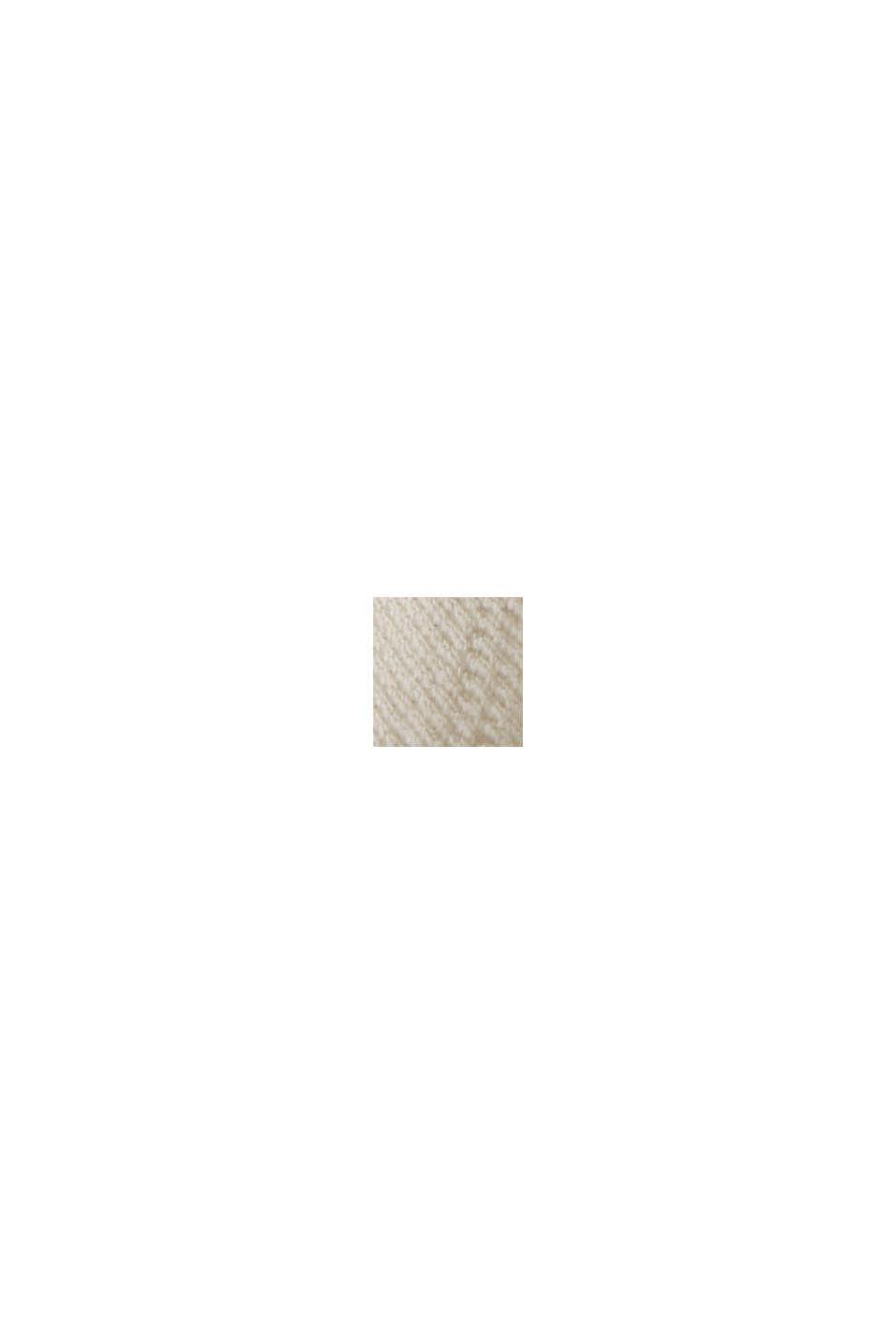 Streifen-Shirt im Blusen-Stil, Bio-Baumwolle, OFF WHITE, swatch