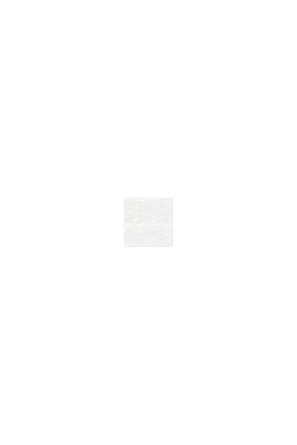 Napillinen CURVY-paita luomupuuvillaa, OFF WHITE, swatch