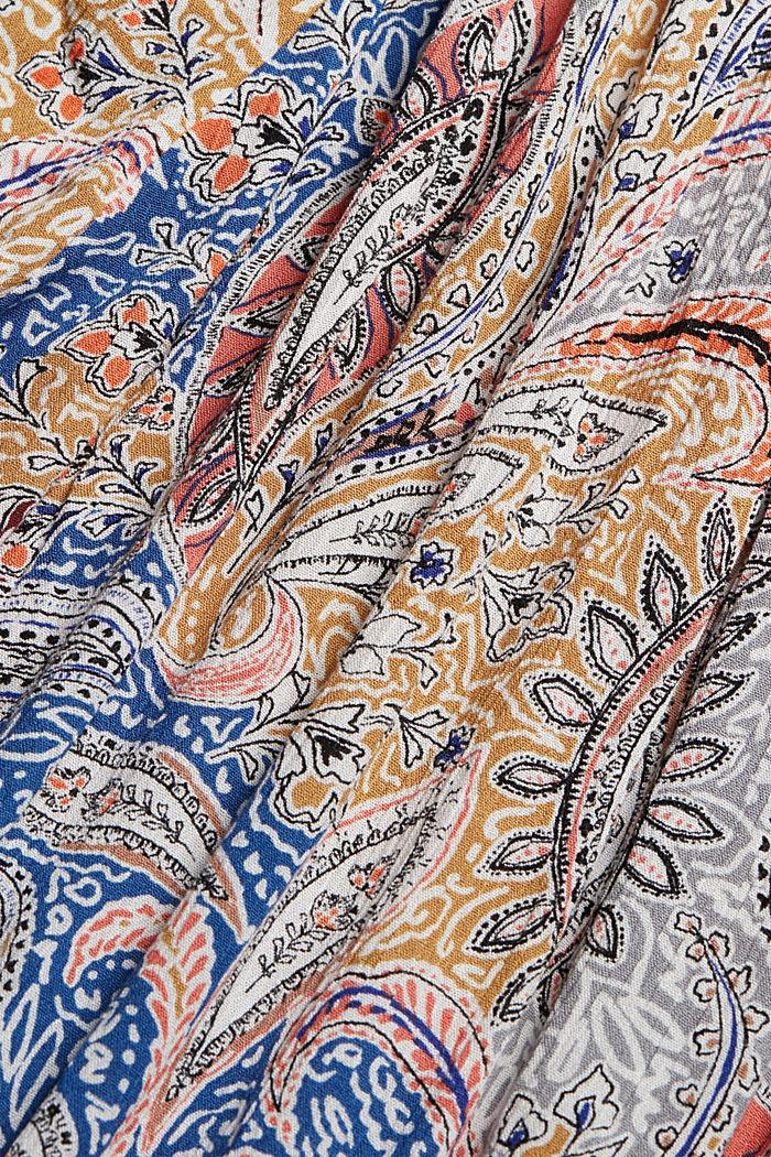 Crinkle-Jumpsuit mit Paisley-Print, LIGHT BEIGE, detail image number 4