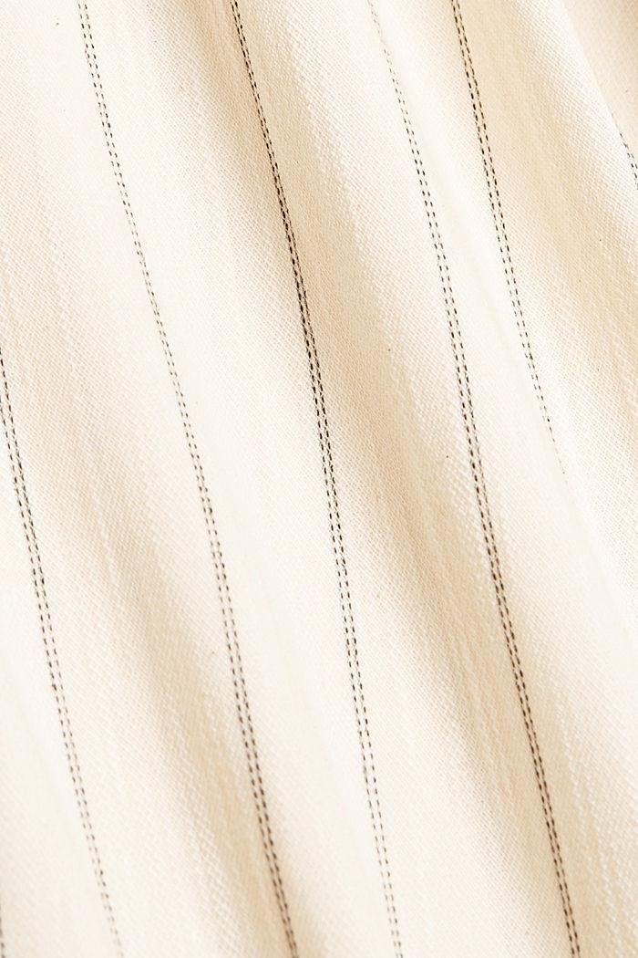 Mono con rayas en algodón ecológico, OFF WHITE, detail image number 4