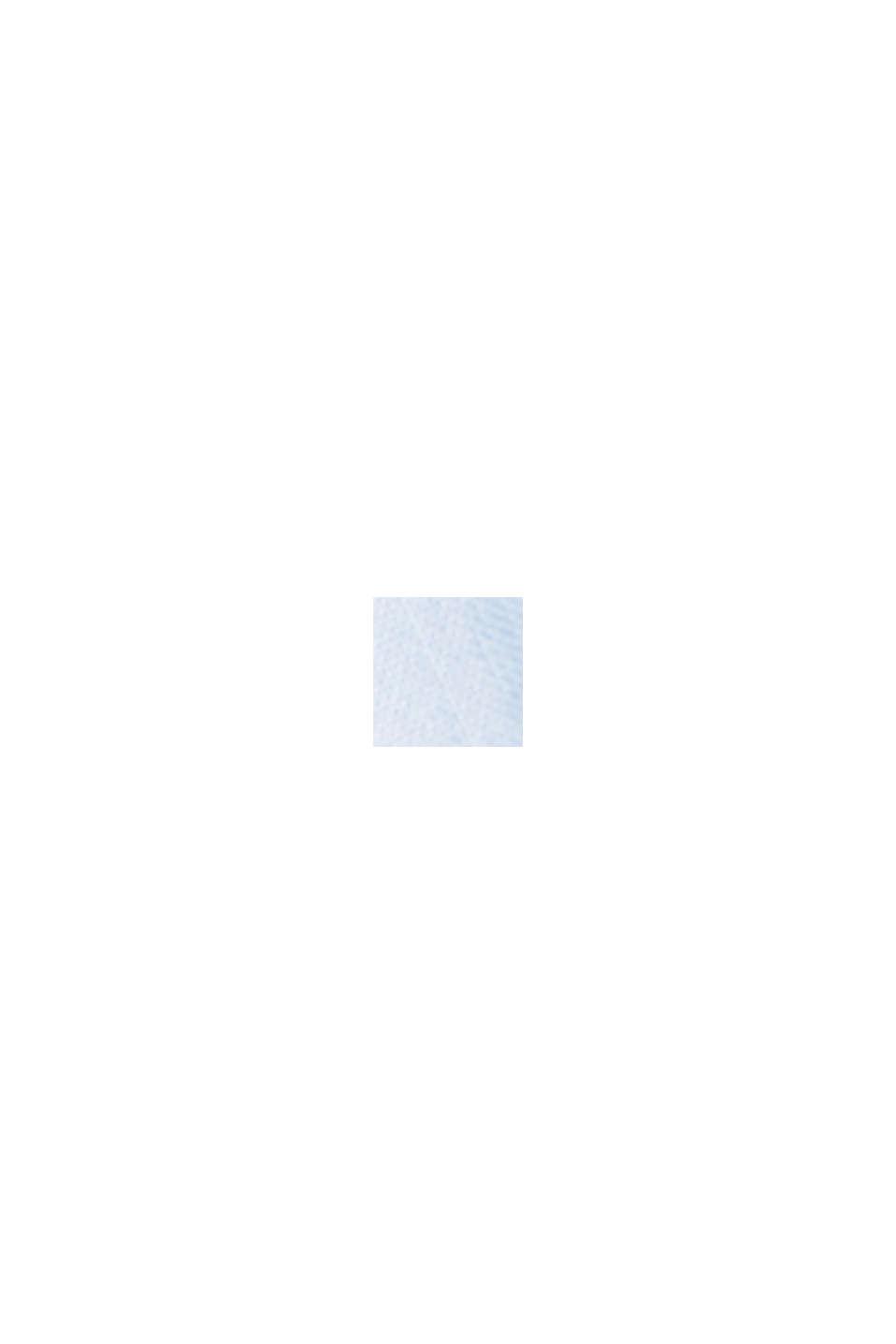Met linnen/COOLMAX®: overhemd met korte mouwen, LIGHT BLUE, swatch