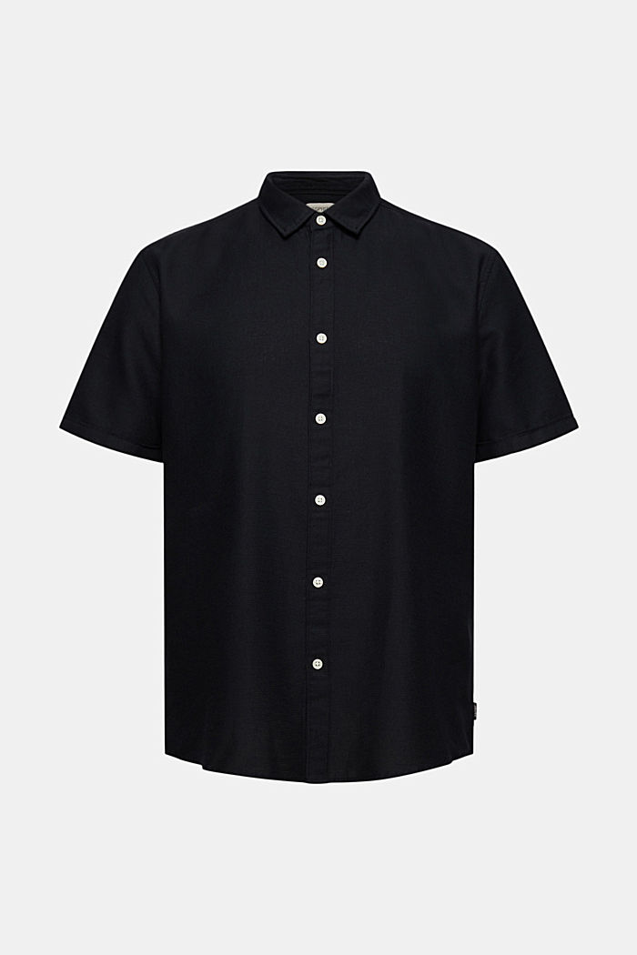 Short-sleeved shirt made of 100% organic cotton