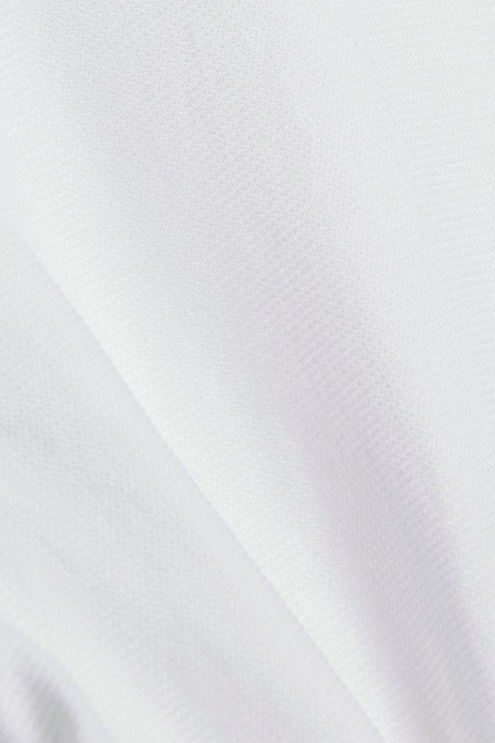 Kurzarm-Hemd aus 100% Organic Cotton, WHITE, detail image number 4