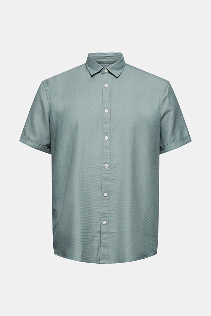 Kortärmad skjorta i 100% ekologisk bomull