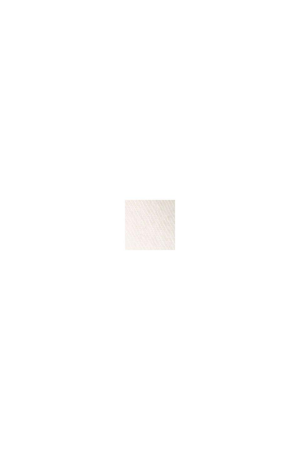 Jersey T-shirt met print, 100% biologisch katoen, OFF WHITE, swatch