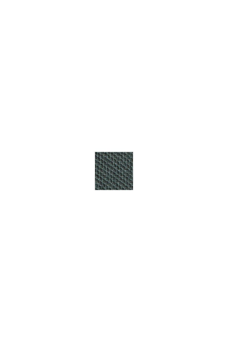 Piqué-T-Shirt aus 100% Bio-Baumwolle, TEAL BLUE, swatch