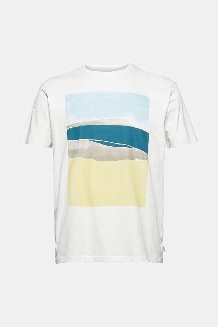 Painokuvioitu jersey-t-paita, 100 % luomupuuvillaa
