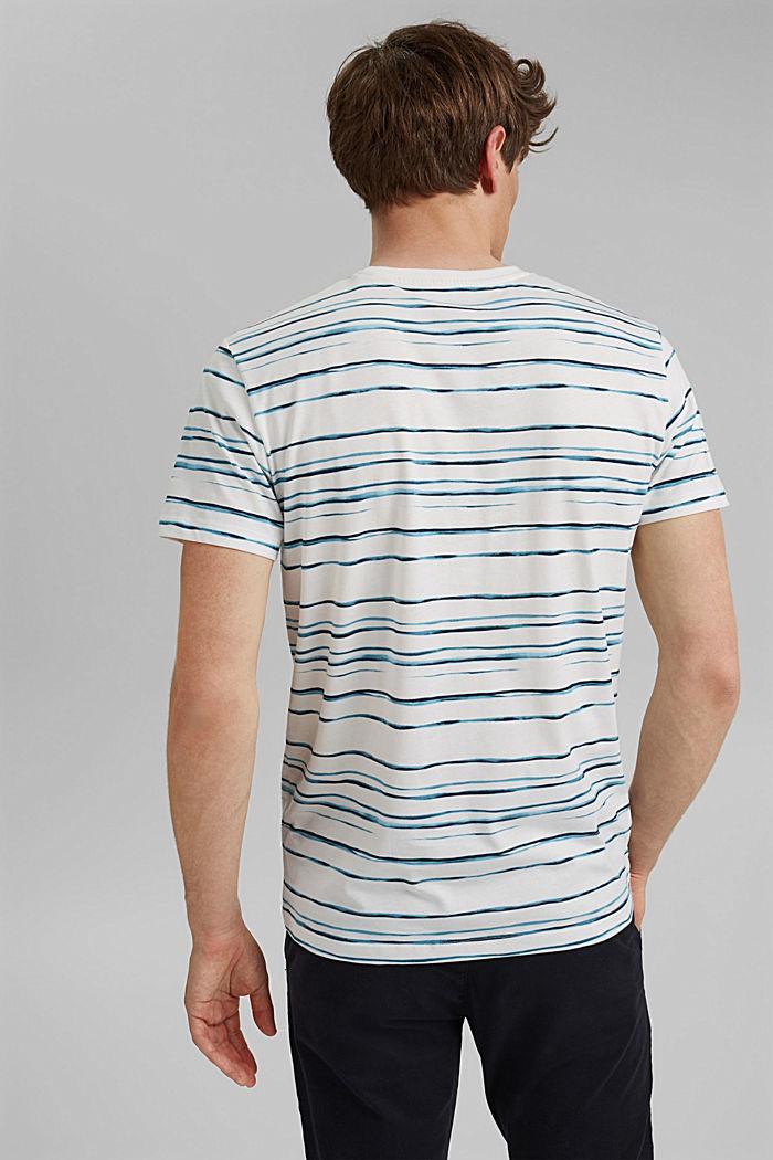 Jersey-T-Shirt mit Print, 100% Organic Cotton, OFF WHITE, detail image number 3