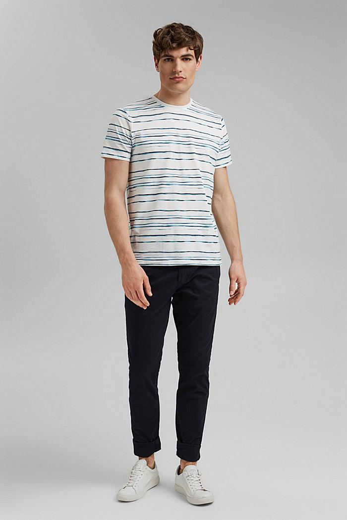 Jersey-T-Shirt mit Print, 100% Organic Cotton, OFF WHITE, detail image number 2